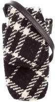 Burberry Check Phone Case Bag