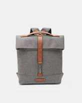 Ted Baker Wool-blend roll down backpack