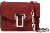 Proenza Schouler Hava Nubuck Shoulder Bag - Claret