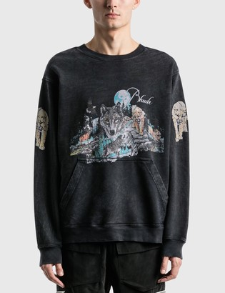 Rhude Wolf Graphic Sweatshirt