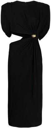 Versace Cut-Out Sculptural Dress