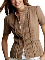 Pintucked jacket