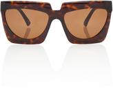 Andy Wolf Eyewear Adele Rectangular Sunglasses