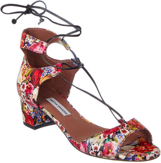 Tabitha Simmons Tallia Tapestry Lace-Up Pump