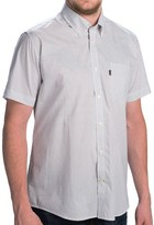 Barbour Button-Front Cotton Shirt - Short Sleeve (For Men)