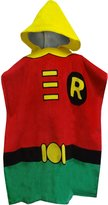 Intimo Batman's Robin Bath Towel Pool/Beach Hooded Poncho Robe for boys