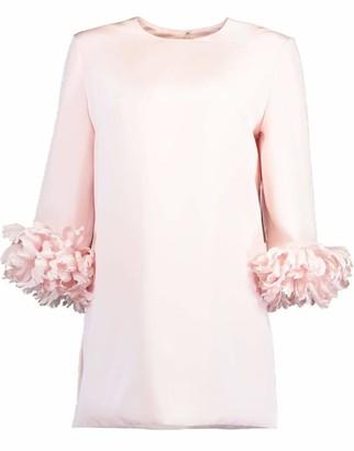Catherine Regehr Pale Pink Tulip Cuff Top