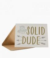 Soild Dude Award Card