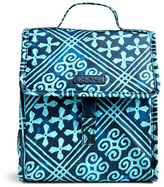 Vera Bradley Cuban Tiles Lunch Sack