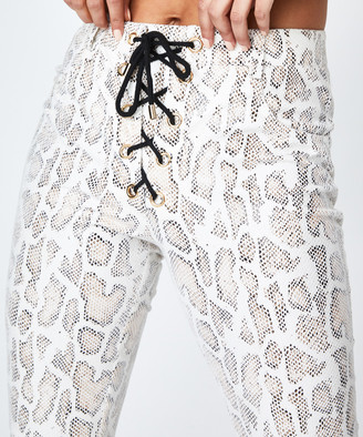 Jagger & Stone The Hailey Snakeskin Pants