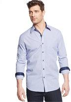 Tasso Elba Men's Big and Tall Long-Sleeve Check Shirt