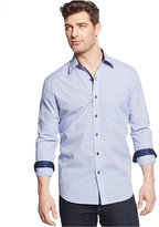 Tasso Elba Men's Long-Sleeve Check Shirt, Only at Macy's