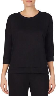 REFINERY29 Double Knit High/Low Pullover