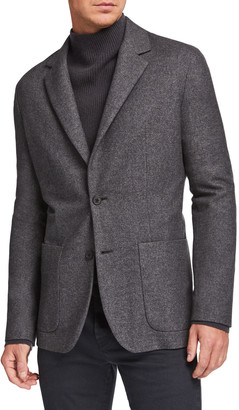 The Row Men's Walter Silk-Blend Sport Jacket