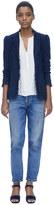 Rebecca Taylor Fringe Tweed Jacket