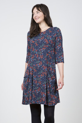 Lily & Me - Navy Slouch Pocket Dress - 10