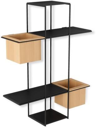 Umbra Cubist Multi Shelf - Sand/Black