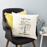 Tillie Mint Loves Mother's Love Family Tree Cushion