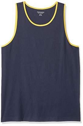Amazon Essentials Regular-Fit Ringer Tank Top T-Shirt,(EU XXXL-4XL)