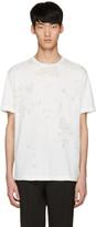 John Lawrence Sullivan Johnlawrencesullivan White Destroyed T-shirt