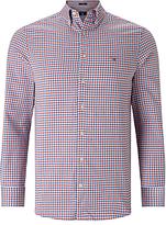 Gant Tech Prep Gingham Check Shirt, Bright Red