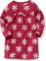 Old Navy Performance Fleece Sleep Gown for Toddler & Baby