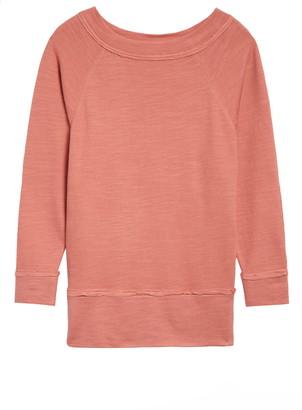 Caslon Dolman Sleeve Cotton Blend Pullover