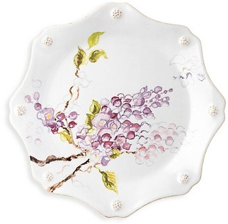 Juliska Berry & Thread Floral Sketch Wisteria Dessert/Salad Plate