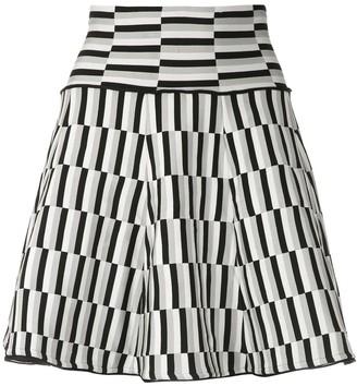 Andrea Bogosian Knitted Mini Skirt