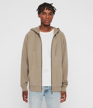 AllSaints Coil Zip Hoodie