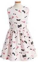 Kate Spade Girl's Carolyn Stretch Cotton Dress