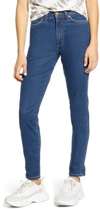 Wrangler Heritage High Waist Ankle Slim Fit Jeans
