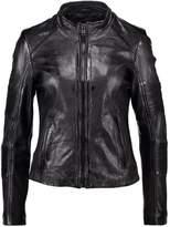 Gipsy PROMISE Leather jacket black