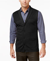 Tasso Elba Men's Big and Tall Shawl-Collar Vest, Only at Macy's