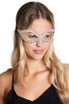 Natasha Accessories 50 Shades Pave Crystal Mask