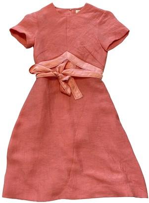 Sandro Spring Summer 2020 Pink Cotton Dress for Women