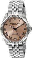 "Stuhrling Original Women's 599L.03 ""Symphony Lady Coronet"" Stainless Steel Watch with Five-Piece Link Bracelet"
