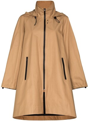 Low Classic Oversized Raincoat