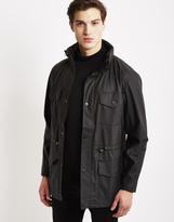 Rains Four Pocket Jacket Black