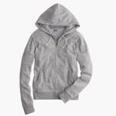 J.Crew Tall brushed fleece zip hoodie