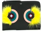 Fendi Bag Bugs clutch - women - Calf Leather - One Size