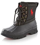 "Polo Ralph Lauren Men's ""Crestwick"" Boots - Black/Red"