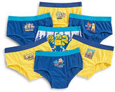 Disney Seven-Pack Minions Boys Briefs