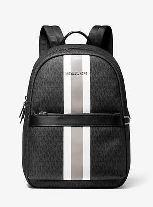 Michael Kors Greyson Logo Stripe Backpack