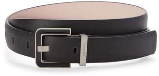 Calvin Klein Black Smooth Belt