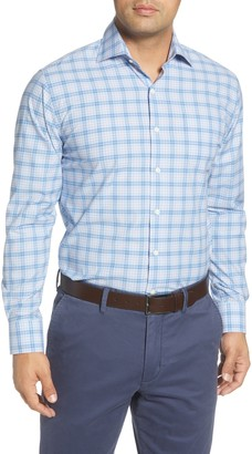 Peter Millar Barrett Regular Fit Plaid Button-Up Shirt