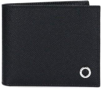 Bulgari Logo Motif Bifold Wallet