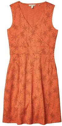 Toad&Co Cue Wrap Sleeveless Dress (Black) Women's Dress