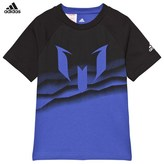 adidas Blue Messi Graphic Tee