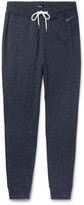 HUGO BOSS Slim-Fit Tapered Nep Cotton-Jersey Sweatpants